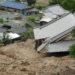 広島県江田島市沖美町是長周辺の被害状況2 県道36号線遮断 2018.07.07豪雨 動画あり